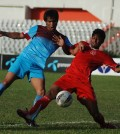 Abahani(Blue) Vs Soccer(Red) b